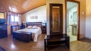 Doble con salón - hotel de montaña rubielos