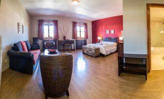 Habitación tipo suite.