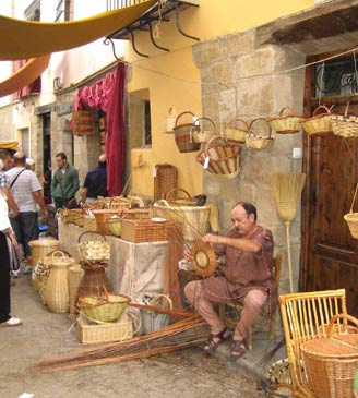 Mercado artesanía Fin de Semana Medieval Rubielos de Mora